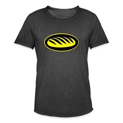 Icona del pane per le persone che amano il pane - Maglietta vintage da uomo