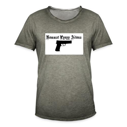 hommat pysyy aitona paita - Miesten vintage t-paita