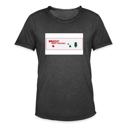 Christmas Exclusive - Men's Vintage T-Shirt