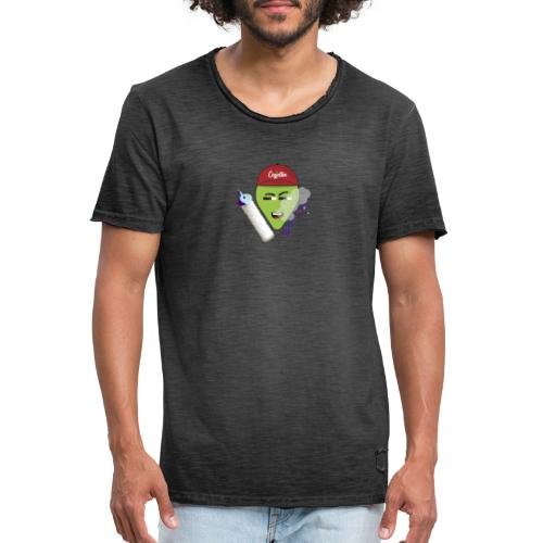 Budgie bukket vibes - Camiseta vintage hombre
