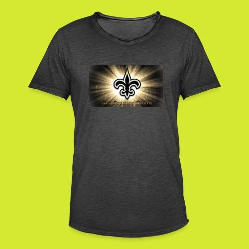 Saints, Sport USA - Männer Vintage T-Shirt