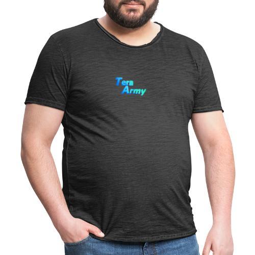Tera-Army - Männer Vintage T-Shirt