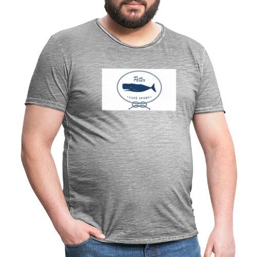 peter cafe sport porto 3 - Männer Vintage T-Shirt