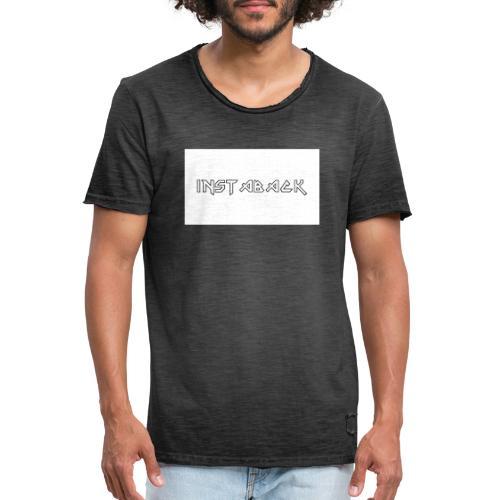 INSTABACK - Mannen Vintage T-shirt