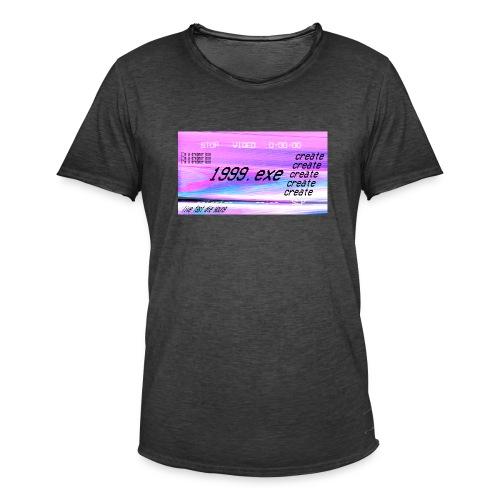 1999.exe - Camiseta vintage hombre