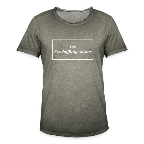 Die Erschaffung Adams - Männer Vintage T-Shirt