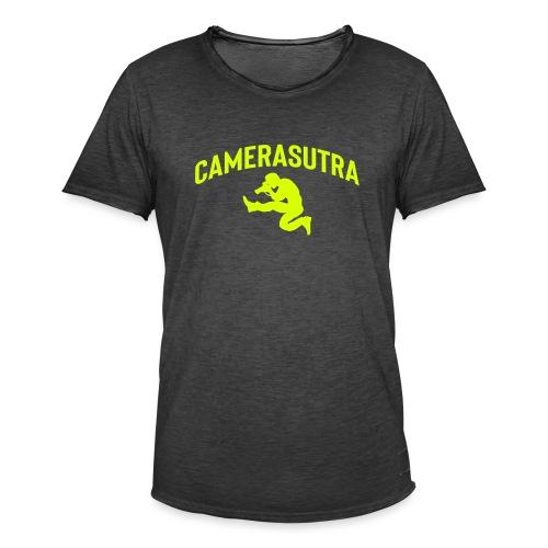 CAMERASUTRA - Vintage-T-shirt herr