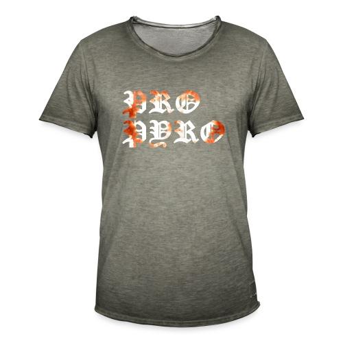 Pro Pyro - Männer Vintage T-Shirt