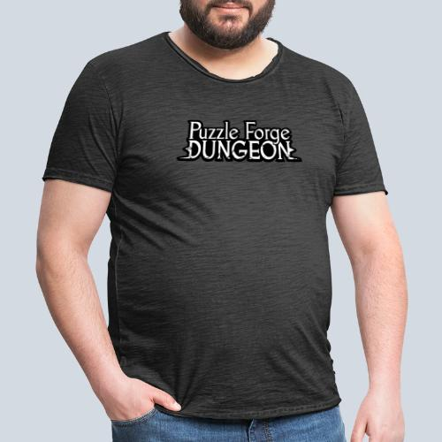 Puzzle Forge Dungeon - T-shirt vintage Homme