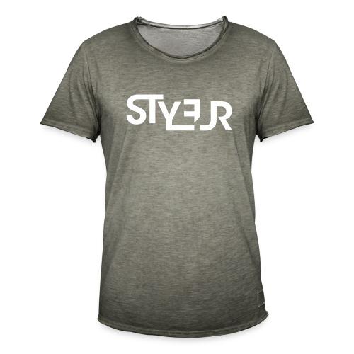 styleur logo spreadhsirt - Männer Vintage T-Shirt