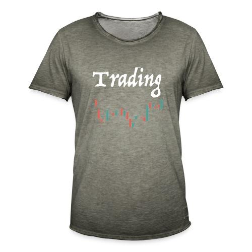 Trading lovers T-shirt - Maglietta vintage da uomo