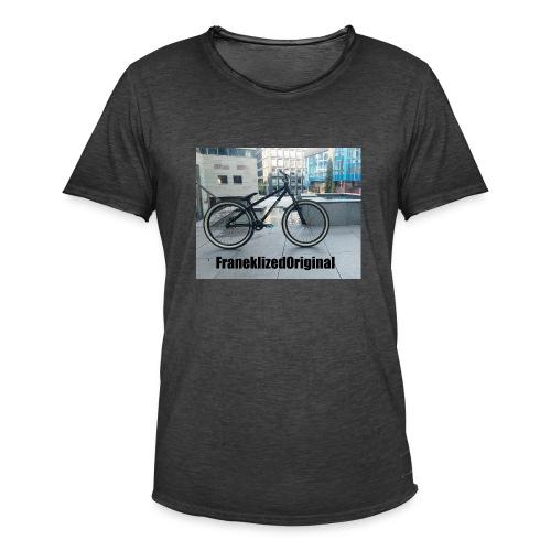 FranekLized original - Koszulka męska vintage