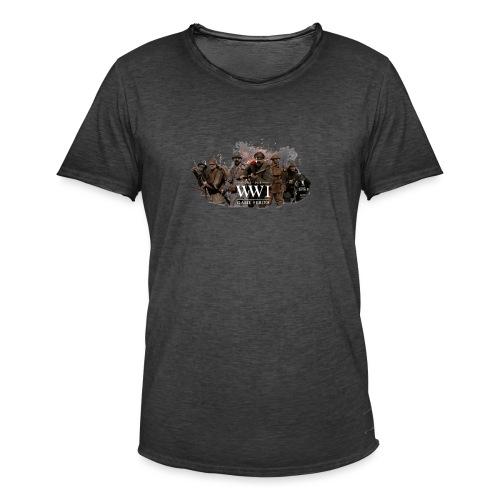 WW1 Game Series - Mannen Vintage T-shirt