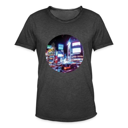 Tokyo Night - T-shirt vintage Homme