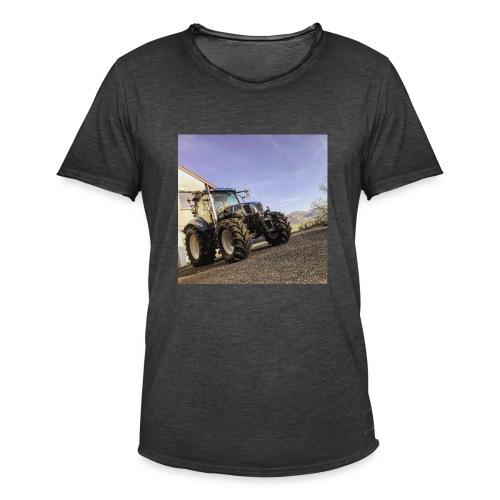 new holland t6080 - Männer Vintage T-Shirt