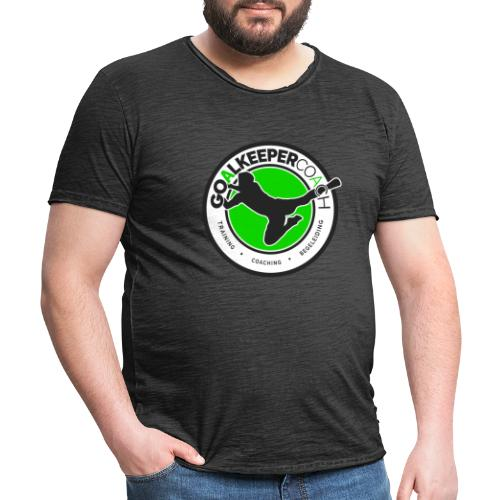 goalkeepercoach - Mannen Vintage T-shirt