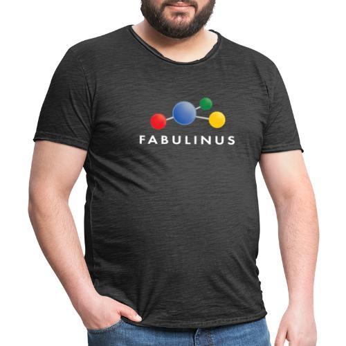 114346920 146279566 Fabulinus wit - Mannen Vintage T-shirt