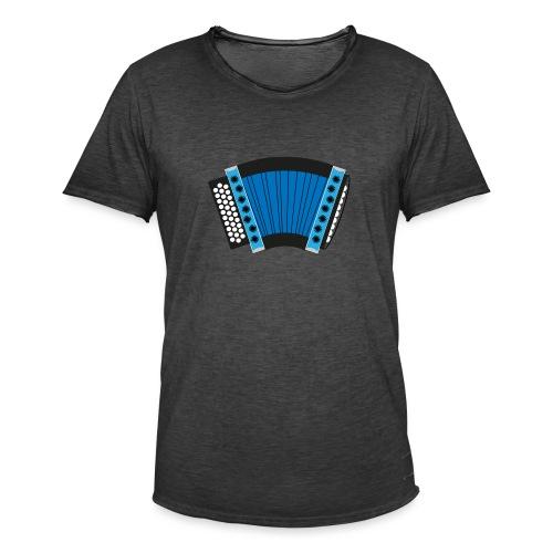Schwyzerörgeli schwarz/blau - Männer Vintage T-Shirt