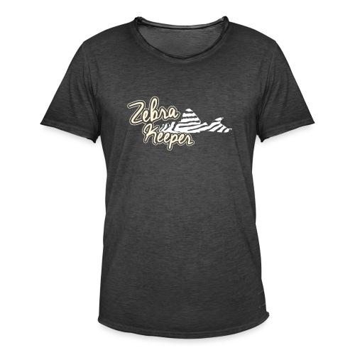 Zebra Keeper - T-shirt vintage Homme