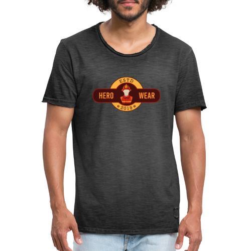 HeroWear - Männer Vintage T-Shirt