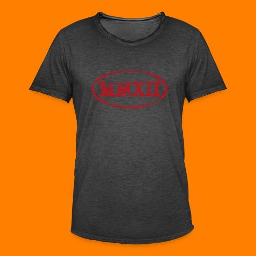 MMXII grungie - Men's Vintage T-Shirt