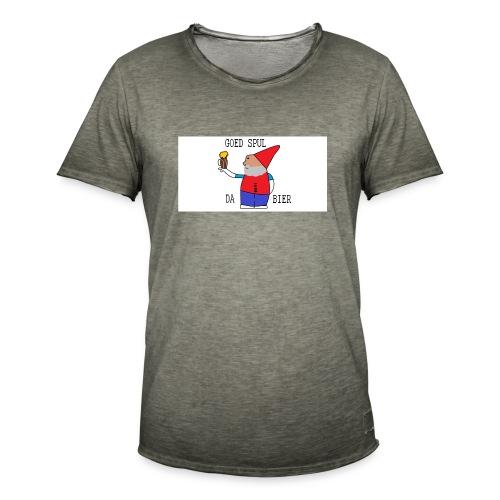 BIER KUT! - Mannen Vintage T-shirt