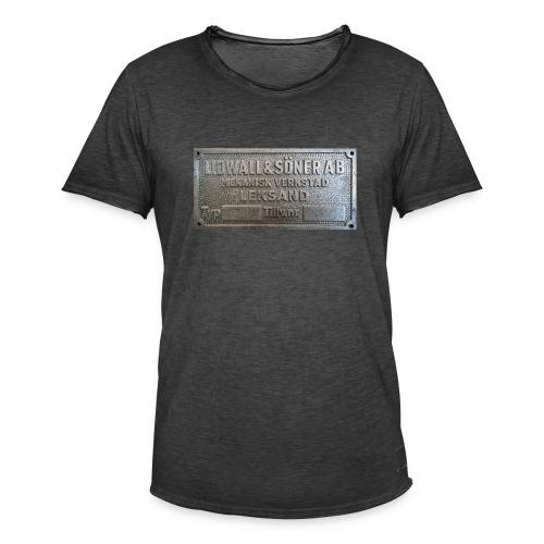 Tillverkningsskylt före 1967 - Vintage-T-shirt herr
