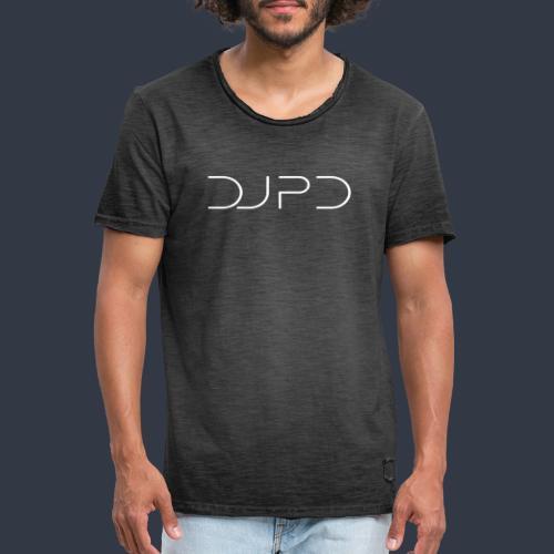 DJ PD white - Männer Vintage T-Shirt