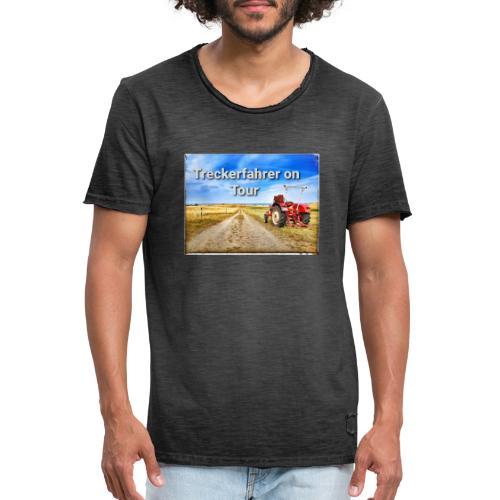 Treckerfahrer on Tour - Männer Vintage T-Shirt