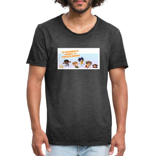 Kids_1 - Herre vintage T-shirt