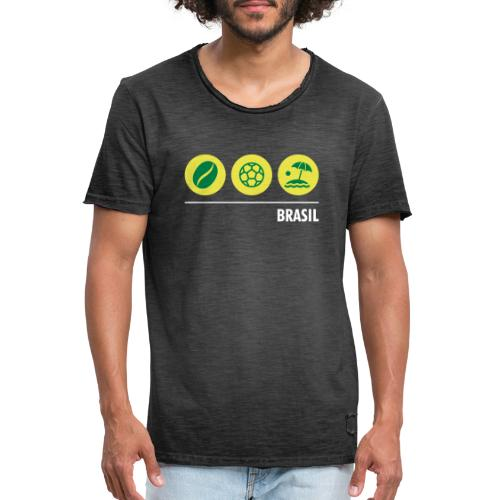 Circles - Brazil - Men's Vintage T-Shirt