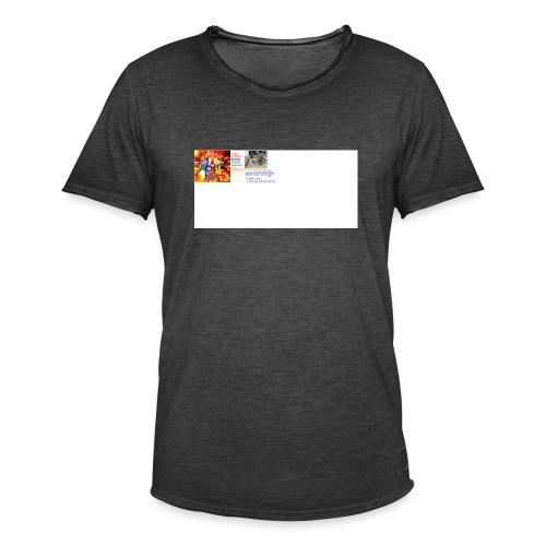 uiioo - Men's Vintage T-Shirt