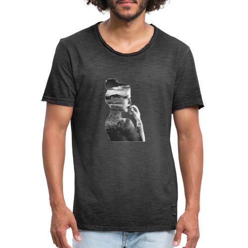 Femme - T-shirt vintage Homme