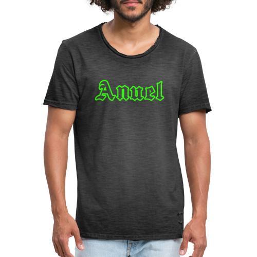ANuel Fluor Green - Camiseta vintage hombre