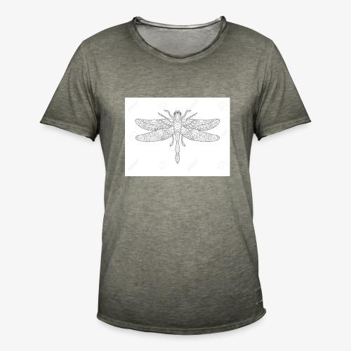 libelula - Camiseta vintage hombre