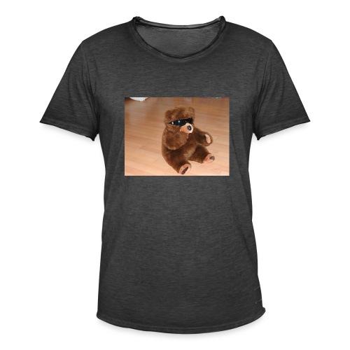 Bär Umbrellastyle - Männer Vintage T-Shirt
