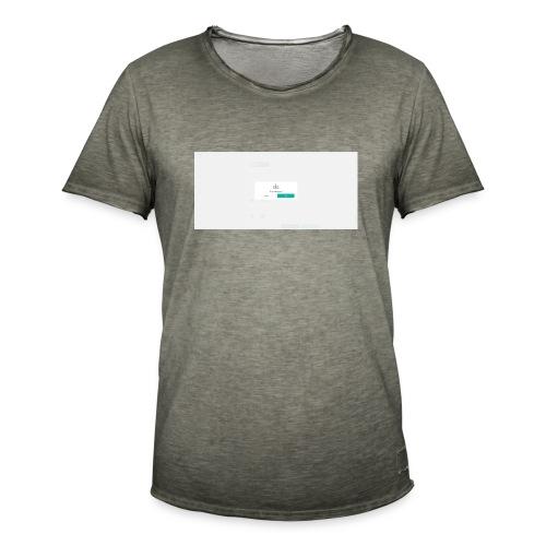 dialog - Men's Vintage T-Shirt