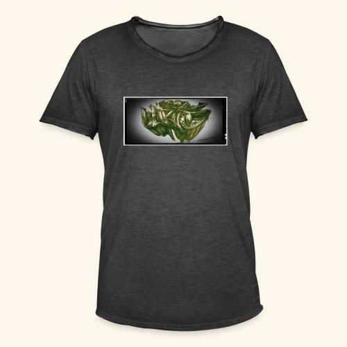 h4kke gr4ff - Männer Vintage T-Shirt