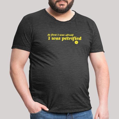 GaynorPowerLemon - Maglietta vintage da uomo