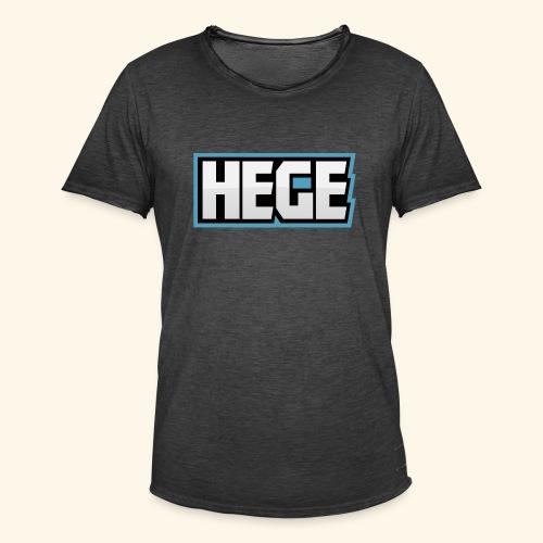 Hegeblau - Männer Vintage T-Shirt