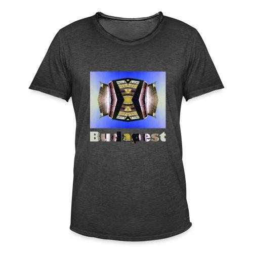 Budapest #1 - Männer Vintage T-Shirt