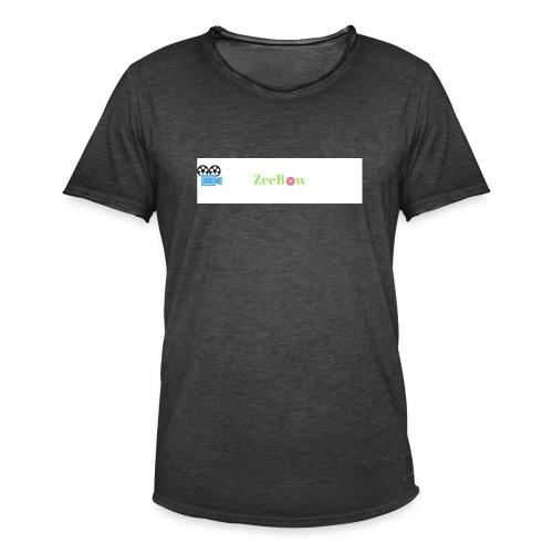 T-Shirt - Herre vintage T-shirt