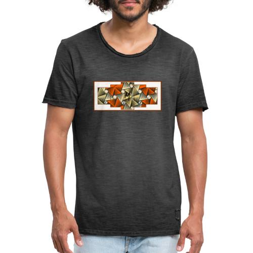 Abstract pattern - Men's Vintage T-Shirt