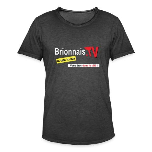 BTV logo shirt dos - T-shirt vintage Homme