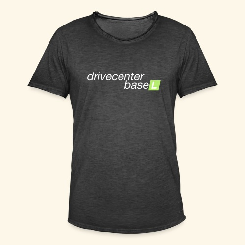drive center logo - Männer Vintage T-Shirt