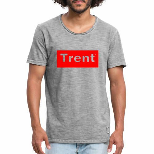 TRENT classic red block - Men's Vintage T-Shirt