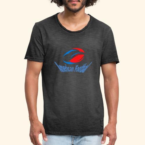 american football - T-shirt vintage Homme
