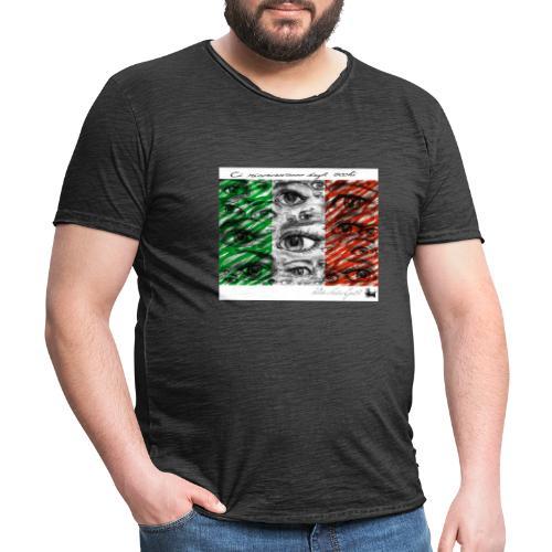 Ci Riconosciamo dagli occhi - Camiseta vintage hombre