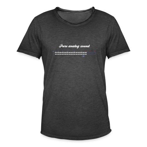 digital VU meters - Men's Vintage T-Shirt