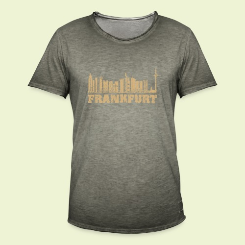 Frankfurt - Männer Vintage T-Shirt